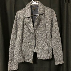 Banana republic blazer. Navy & white